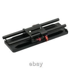 15mm Rod System ARRI Camera Base Plate Quick Release for Canon DSLR Cameras