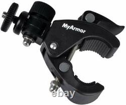 2pcsQuick Release Clamp Mounting with1/4 for Tripod Bendable Camera Mounting Plate