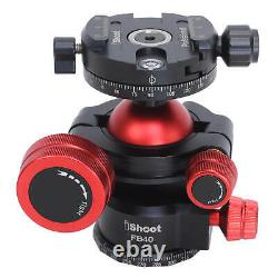 360 Tripod Monopod Panoramic Ball Head with Arca Swiss Quick Release Plate Clamp