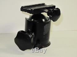 ARCA SWISS MONOBALL #1 Large Ball Head BLACK EXCELLENT CONDITION No QR Plate