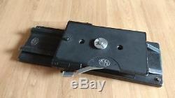 ARRI Verschiebeplatte mit Grundplatte und 15mm Rohren Quick release plate