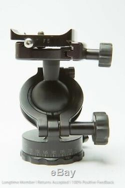 Acratech Ultimate Ballhead withArca Swiss style clamp and plate