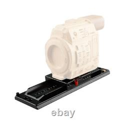 Aluminum ARRI 12 Dovetail Plate Quick Release Baseplate Set for Camera