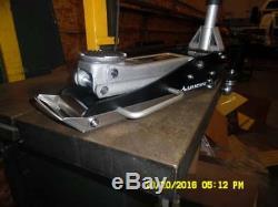 Aluminum Floor Jack Skid Plate and Quick Release Mount Combo