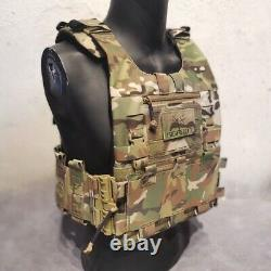 BIGFOOT GTPC Quick Release Tactical Plate Carrier Vest Multicam