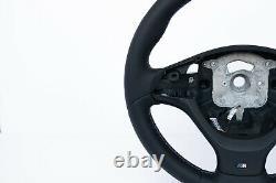 BMW X5M E70 X6M E71 M-TECH SPORT NEW NAPPA LEATHER HEATED BLACK thick/M-stitch