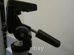 BOGEN 3051 PROFESSIONAL TRIPOD WithBOGEN HEAD 3047, 2 QUICK RELEASE PLATES & APRON