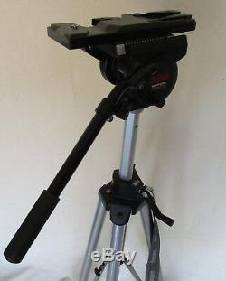 BOGEN MANFROTTO 3068 TRIPOD with 3066 HEAD, QUICK RELEASE PLATE & VTC-U14 PLATE