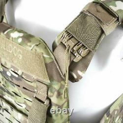 BULLDOG QR KINETIC ARMOR CARRIER Quick Release MOLLE Tactical Plate Vest MTC