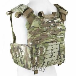 BULLDOG QR KINETIC ARMOR CARRIER Quick Release MOLLE Tactical Plate Vest Olive