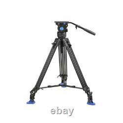 Benro BV6 Professional Auminium Video/Camera Tripod With Video Head QR13 Plate