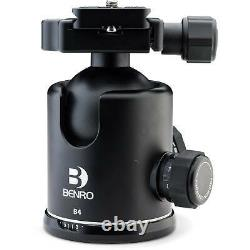 Benro B Series B4 Triple Action Ball Head with PU70 Quick Release Plate
