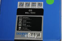 Benro G3 Low-Profile Triple Action Ball Head withQR Plate #474