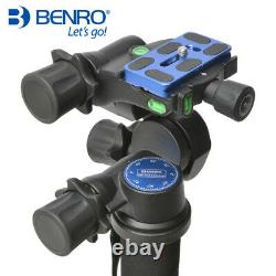 Benro GD3WH 3D Gear Head & QR Plate Package for Camera Tripod fit ArcaSwiss