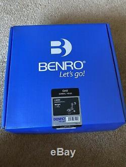 Benro GH2 Aluminum Gimbal Head with PL100 Plate Black