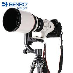 Benro GH2 Aluminum Gimbal Tripod Head with PL100 Plate Universal Head
