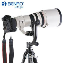Benro GH2 Gimbal Head Aluminum with PL100 Plate Tripod Head For Camera