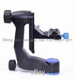 Benro GH Series GH5C Carbon Fiber Gimbal Head with PL100 Plate Bird watching PTZ