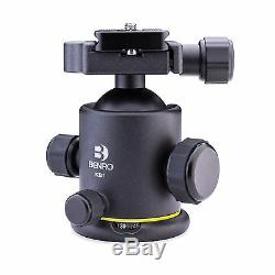 Benro KB1 Triple Action Ballhead with with Arca Quick Release / Plate