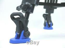 Benro Kh26nl Video Tripod Kit Qr11 Quick Release Plate Bs07 Par Bar Handle Case