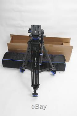 Benro S7 Dual Stage Video Tripod Kit A573TBS7 withQuick Release Plate Included#101