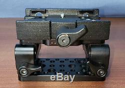Berkey System DSLR Rig Baseplate Dual Quads 15mm Rod Video Quick Release Plate