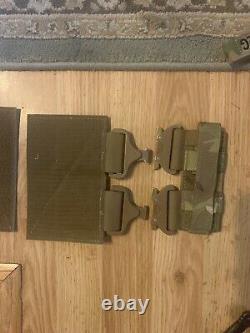 Blaze defense quick release Cobra buckle plate carrier multicam