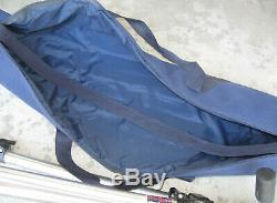 Bogen 3021 Tripod with 3047 Head Quick Release Plate plus Travel Bag
