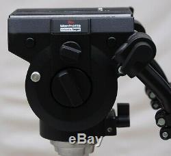 Bogen 3066 (Manfrotto 116MK3) Pro Video Fluid Head with arms & plate Mint