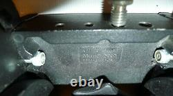 Bogen 3066 (Manfrotto 116MK3) Video Fluid Head with arm & plate Nice