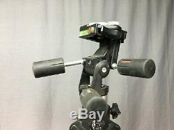 Bogen 3236 Manfrotto Tripod With 3047 Head and Quick Release Plate