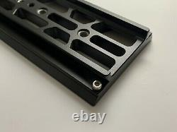 Bridge Plate with 12 Dovetail for ARRI camera RED SONY 19mm Quick Release
