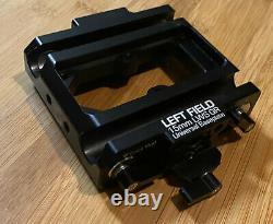 Bright Tangerine Left Field 15mm LWS QR Universal Baseplate