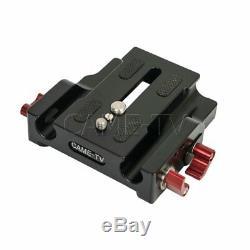 CAME-TV 15mm Baseplate Quick Release Plate Rods System FS7 EVA1 URSA mini etc