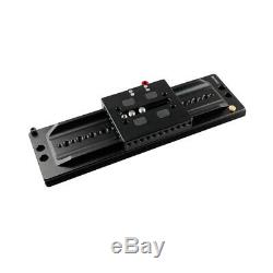 CAMVATE ARRI 12 Sliding Dovetail Plate & Quick Release Baseplate 1/4 Mounting