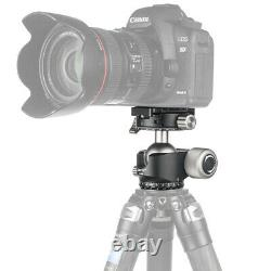 CAVIX D40-S Panoramic Ball Head Low Center U-shaped with QR Plate for Tripod