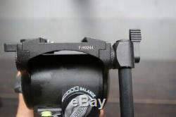Cartoni Focus HD Fluid Tripod Head with Extra Quick Release Plates DSLR Film