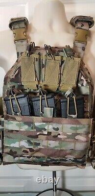 Commander's QUICK RELEASE Tactical Carrier MULTICAM/ 3PLUS PLATES