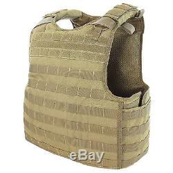 Condor QPC Tan Body Armour Cover + Quick Release Plate Carrier Military Police