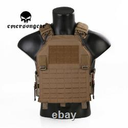 EMERSONGEAR Tactical Quick Release W / ROC Vest MOLLE PLate Carrier Airsoft