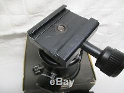 EXC+++ ARCA SWISS MONOBALL B1 BALL HEAD SUPPORTS 90lbs withQR PLATE + 1