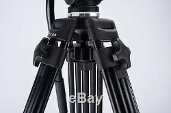 E-Image ET-40BAM Professional Aluminum Tripod with EH50 Head NO QR PLATE V14