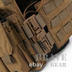 Emerson LBT-6094K Tactical Quick Release Vest Molle Plate Carrier Body Armor