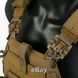 Emerson MOLLE Plate Carrier Tactical Vest Quick Release With Magazine Pouches NEW