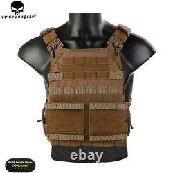 Emerson Tactical JPC 2.0 Jum Plate Carrier Quick Release Combat Vest Armor Molle