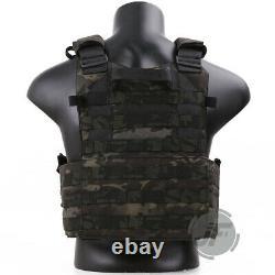 Emerson Tactical LBT-6094K Plate Carrier Armor Vest Quick Release Multicam Black