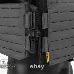 Emerson Tactical MOLLE Quick Release Tube Armor Vest Lightweight Plate Carrier