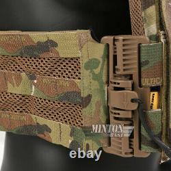 Emerson Tactical Quick Release Combat Vest Molle Lightweight Plate Carrier Camo
