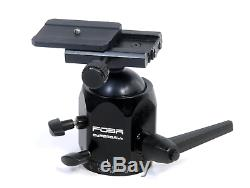 FOBA SUPERBALL TRIPOD BALL HEAD WITH Arca Plate Ex Condition