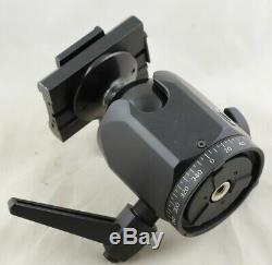 Foba Superball heavy duty tripod ball head with quick release Arca Swiss plate